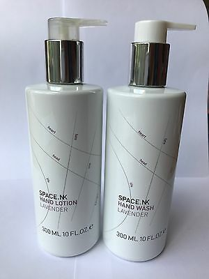Space NK Lavender Hand Care Collection Set, Handash and Lotion, 300ml RRP £25