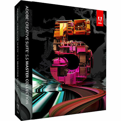 Adobe Creative Suite CS5.5 Master Collection-MAC-Photoshop, Indesign