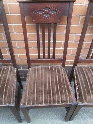 Genuine antique dining chairs   circa 1910-20s