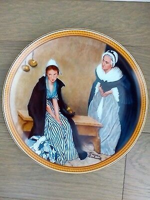 Norman Rockwell Words of Comfort 1986 Collector Plate