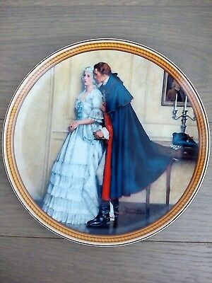 Norman Rockwell The Unexpected Proposal 1986 Collector Plate