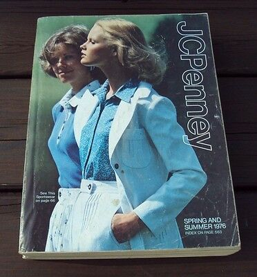 Vtg JC PENNEY CATALOG ~ SPRING and SUMMER 1976