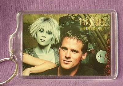 FARSCAPE Ben BROWDER Gigi EDGLEY Keychain NEW