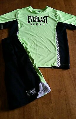 Everlast outfit boys size 8 shorts and short sleeve shirt, cute!