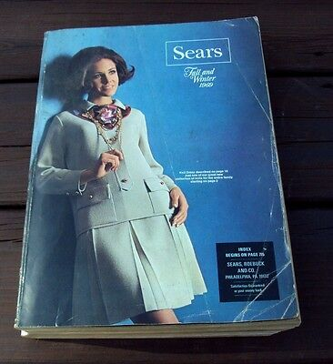 Vtg SEARS CATALOG ~ FALL / WINTER  1969