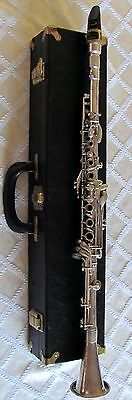 Selmer Bb Metal Full Boehm System Clarinet NEW OVERHAUL& HAND SHINE