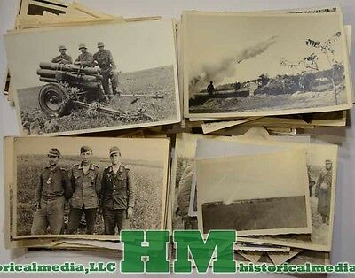 Wwii German Photo Grouping - Nebel Lehr Regiment - Nebelwerfer - Russia Campaig