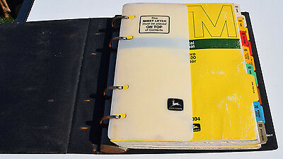 John Deere Technical Manual 2520 Tractor TM-1004 and 2630 TM-1085