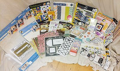 Huge Scrapbooking Ready Set Print Lot msrp $300+ All NEW
