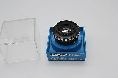 Rodenstock Rodagon 50Mm F4 Enlarging Lens With Case
