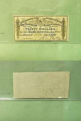 US 1883 $30 Confederated Note