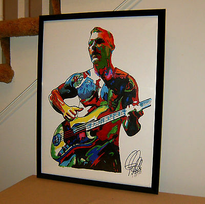 Tim Commerford, Rage Against the Machine, Bass, Rap Metal, Music, 18x24 POSTER