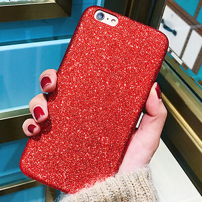 Ultra Thin Slim Bling Sparkle Hard Plastic Case Cover Skin for iPhobe 6 6s 4.7''