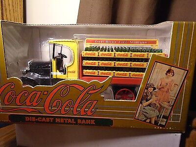 COCA COLA  Bottling Co Every Bottle Sterlized  Diecast 1994 ERTL Truck Bank