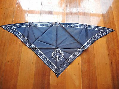 Girl Guide Brownie Leader scarf from the 1980's Good vintage condition