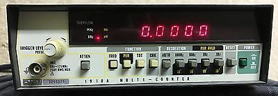 @ Fluke 1910A/1911A - Multifunction Frequency Counter, 2 Channel 5 Hz-250 MHz