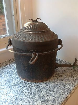 Antique Cast Iron Camping Kettle