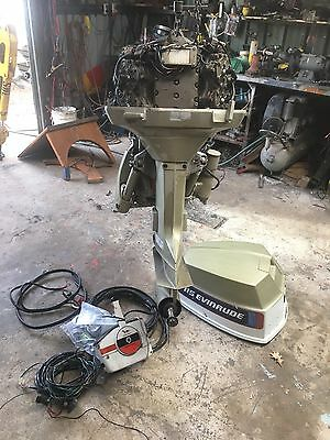 Evinrude 115 Hp Outboard Motor Runs Well