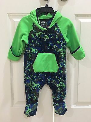 Brand new! The North Face Baby Infant Boys One Piece Glacier 3-6M, 6-12M, 12-18M