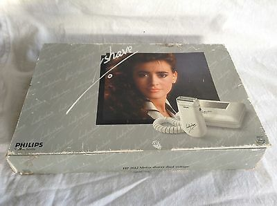 Philips Vintage (80's) lady shaver - Made in Austria