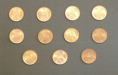 Great Britain New Half Penny Coin Set 1971, 1973 > 1982 Royal Mint
