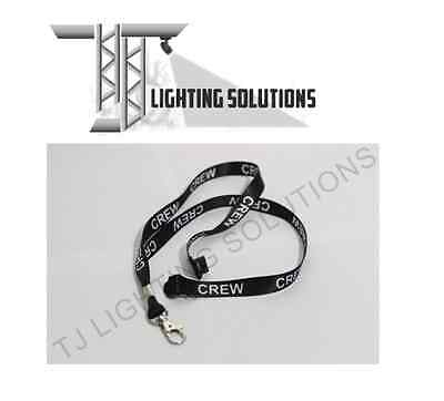 CREW Lanyards Stage Lighting Theatre Stage DJ