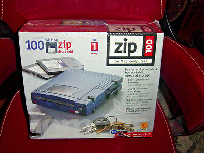 Iomega Zip 100 Drive for Mac Computers SCSI Connection NIB New