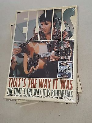 Elvis Presley - THAT'S THE WAY IT WAS the rehearsals - very rare new 8 cd /3 dvd