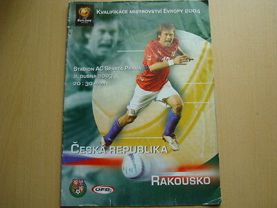 Czech Republic V Russia Apr 2003