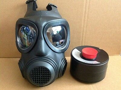 NEW Forsheda Civilian Gas Mask size 2 with New Seald  N.B.C. Fliter 2023