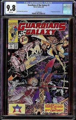 Guardians of the Galaxy # 1 CGC 9.8 White (Marvel, 1990) 1st issue of series