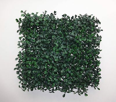 Artificial Boxwood Mat Panels
