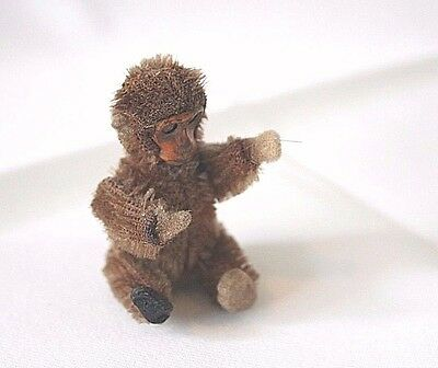 Tiny Toy Antique Monkey by Schuco of Germany