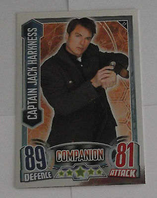 Topps Doctor Who Alien Attax Mirror Foil Card - 37 Captain Jack Harkness
