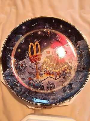 McDonalds Golden Dreams Plate by Bill Bell The Franklin Mint - Limited Edition,