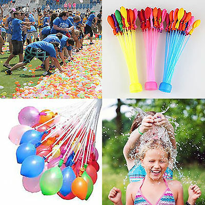 Magic Water Bomb Balloons Kids Parties Outdoor Summer Toys 111 pcs Bunch Balloon