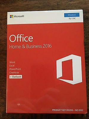 Microsoft Office Home and Business 2016 - Windows