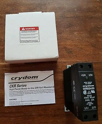 Crydom CKRD2430 Solid State Relay 240v 30A