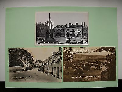 WILTSHIRE - 5  old postcards - Lot A - Devizes, Wilton etc