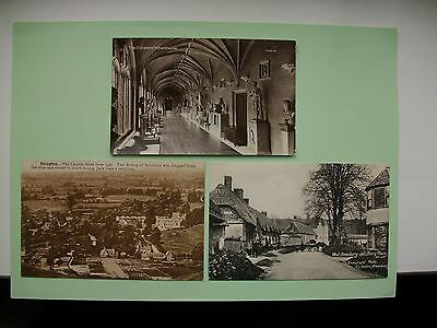WILTSHIRE - 5  old postcards - Lot B - West Amesbury, Edington etc