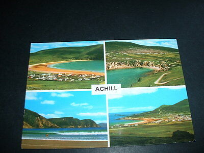 IRELAND  POSTCARD   ACHILL Co MAYO