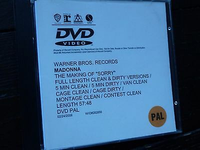 MADONNA Drowned World PROMO VHS VIDEO UK Cleopatra Catatonia Suggs Madness Cerys