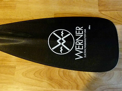 "Werner Nitro Carbon SUP 73"" Paddle (bent-shaft) RRP £275"
