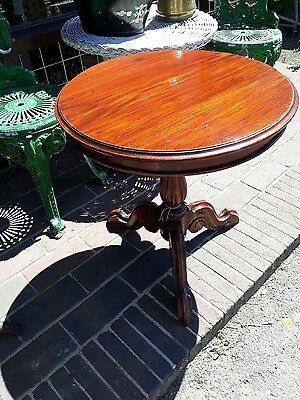 Edwardian Mahogany drum table in Victorian style