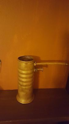 VINTAGE BRASS EAGLE  FINGERTIP OIL PUMP OILER CAN ANTIQUE No. 66