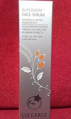 LIZ EARLE SUPERSKIN FACE SERUM 30ml PUMP FULL SIZE rrp £48 BRAND NEW AND BOXED