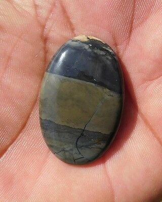 44 Cts Amazing Natural Rock Calcy 38X25X5Mm Cab Gemstone Oval Shape