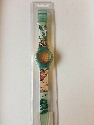 Vintage Disney Lion King LCD Children's Watch Sealed