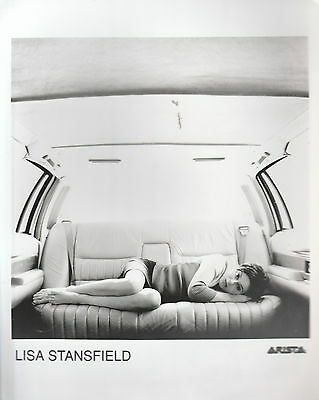 """LISA STANSFIELD UK 100% OFFICIAL 10"""" x 8"""" BLACK & WHITE PUBLICITY PHOTO (3)"""