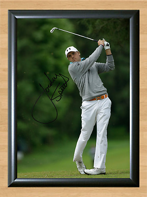 Jordan Spieth Golf Masters Ryder Cup US Open Signed Autographed A4 Photo Print 2